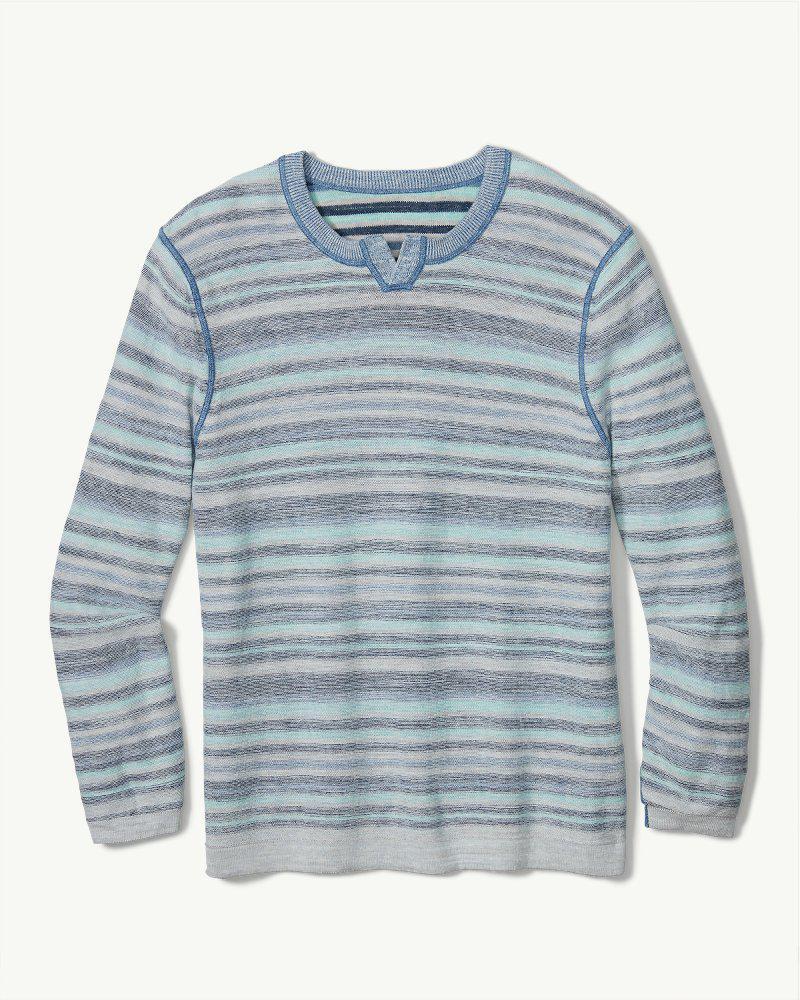 5ea6e7c9ef Lyst - Tommy Bahama Sandy Bay Stripe Abaco Sweater in Blue for Men
