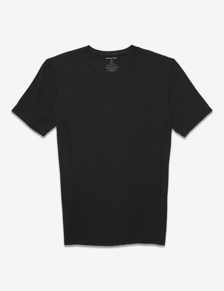 Tommy John Second Skin V-Neck Soft Men/'s T-Shirt  White Black Micro modal