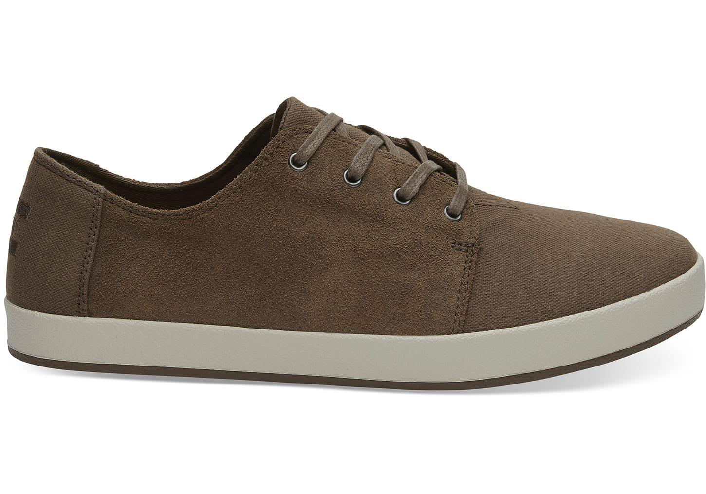 TOMS Payton Bark Oiled Suede Low-top