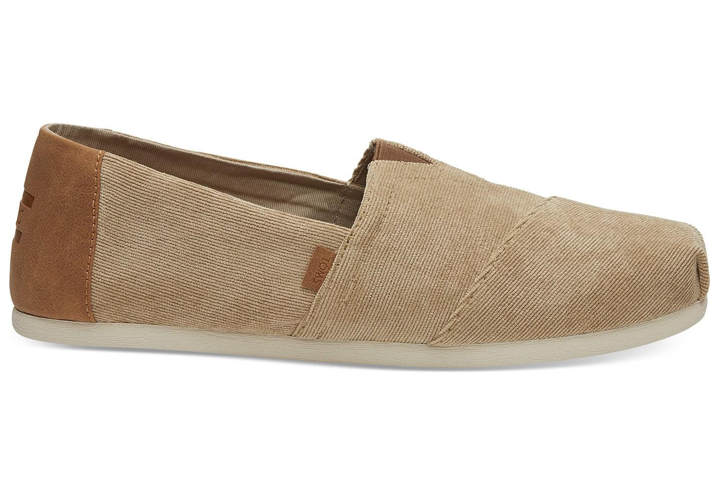319e830cd60 TOMS Toffee Corduroy Men s Classics in Natural for Men - Save 25% - Lyst
