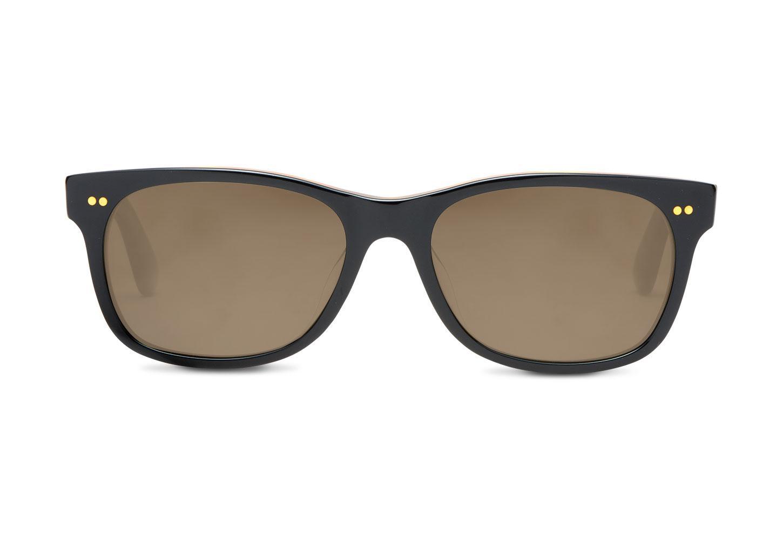 4704eaf11b0 TOMS Beachmaster 301 Matte Black Zeiss Polarized in Black for Men ...