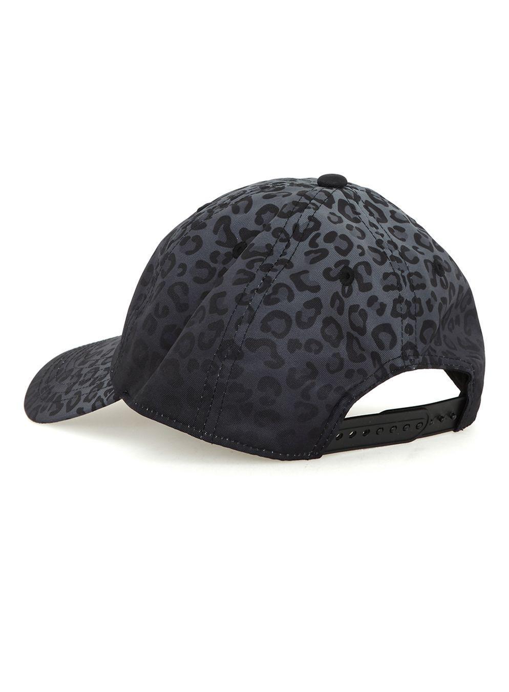 TOPMAN Devote Grey Faded Cheetah Print Snapback Cap  in Gray for Men ... 13beab843ea
