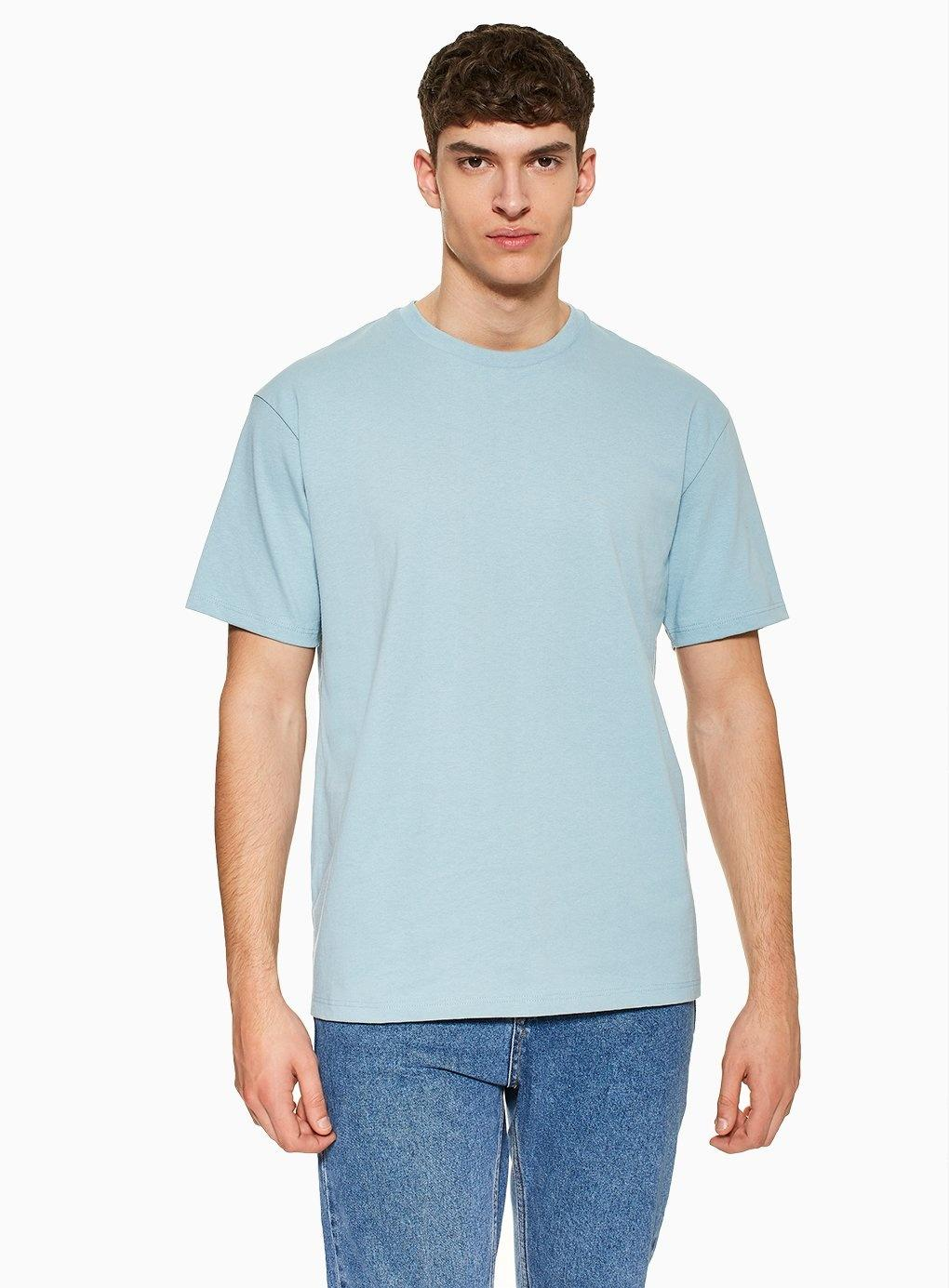 a14fa0ce Topman Duck EggOversized T-shirt in Blue for Men - Lyst
