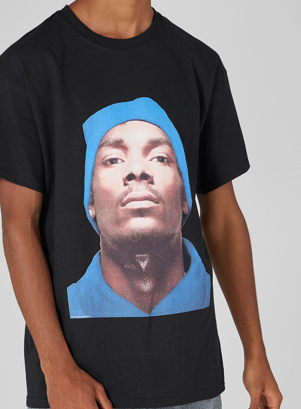 60e7ad4c TOPMAN Snoop Dogg Print T-shirt in Black for Men - Lyst