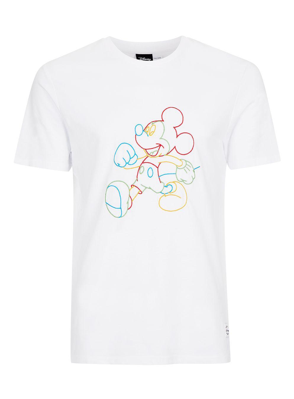 topman mickey mouse t shirt