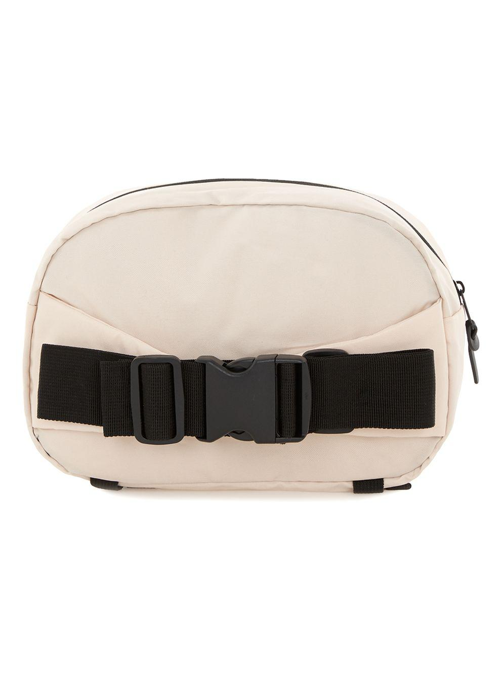 TOPMAN Synthetic Tone Cross Body Bag in Stone (Black) for Men