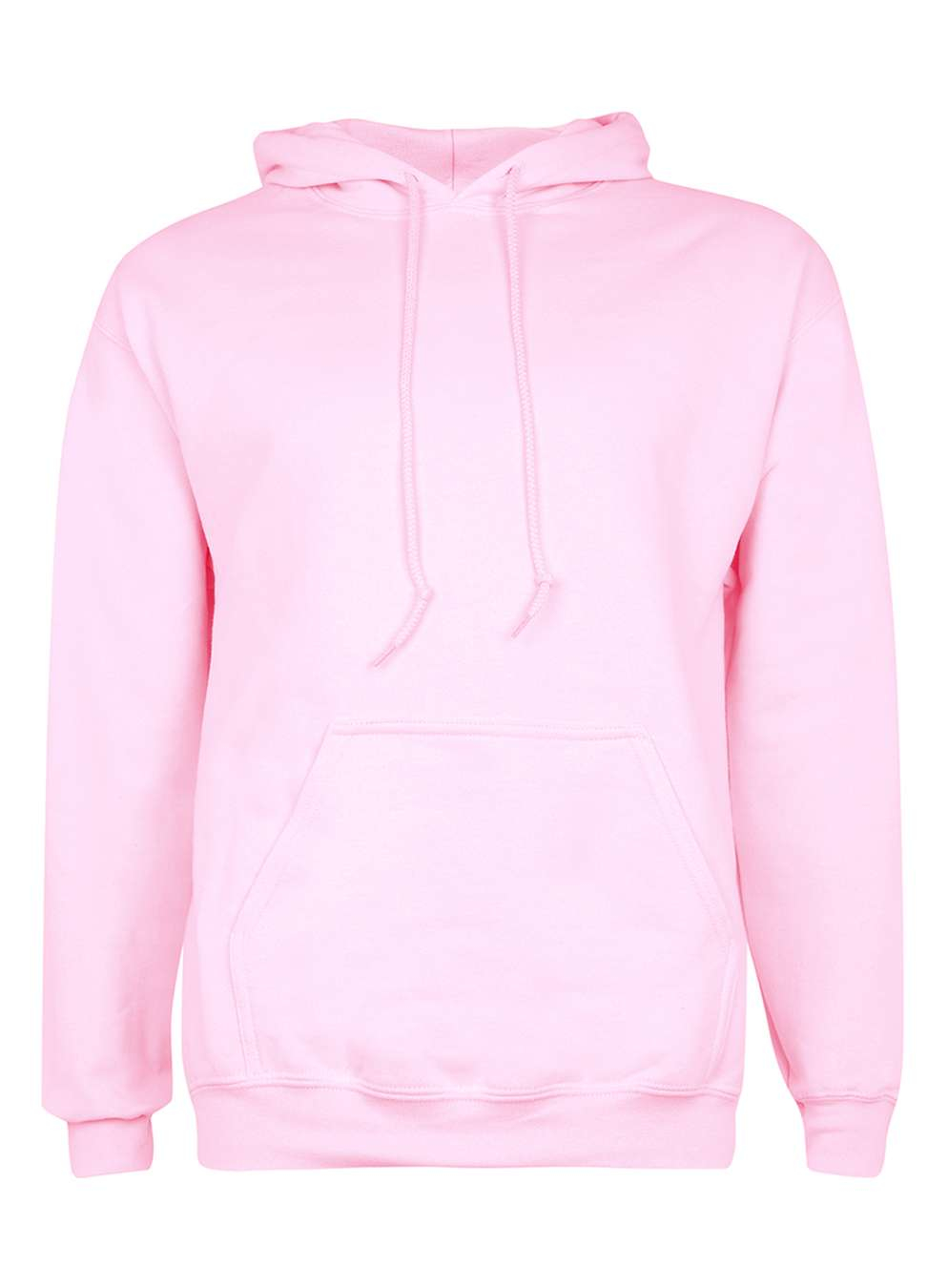 Topman Pink Oversized Hoodie in Pink for Men | Lyst