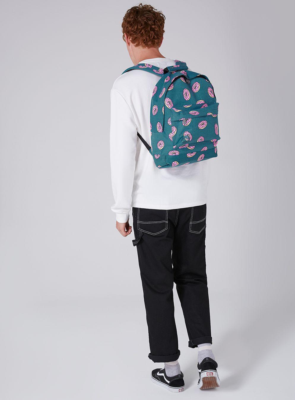 TOPMAN Mi-pac Canvas Doughnut Backpack* in Blue for Men