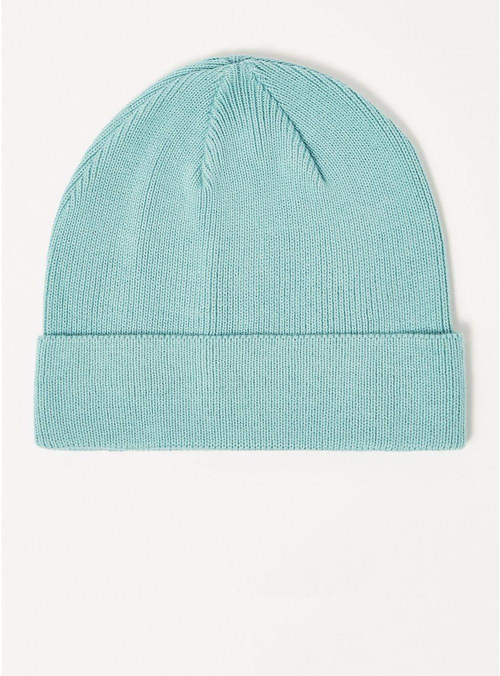 Topman Aqua Blue Cotton Mix Skater Beanie in Blue for Men - Lyst c3e7fd60c6ae