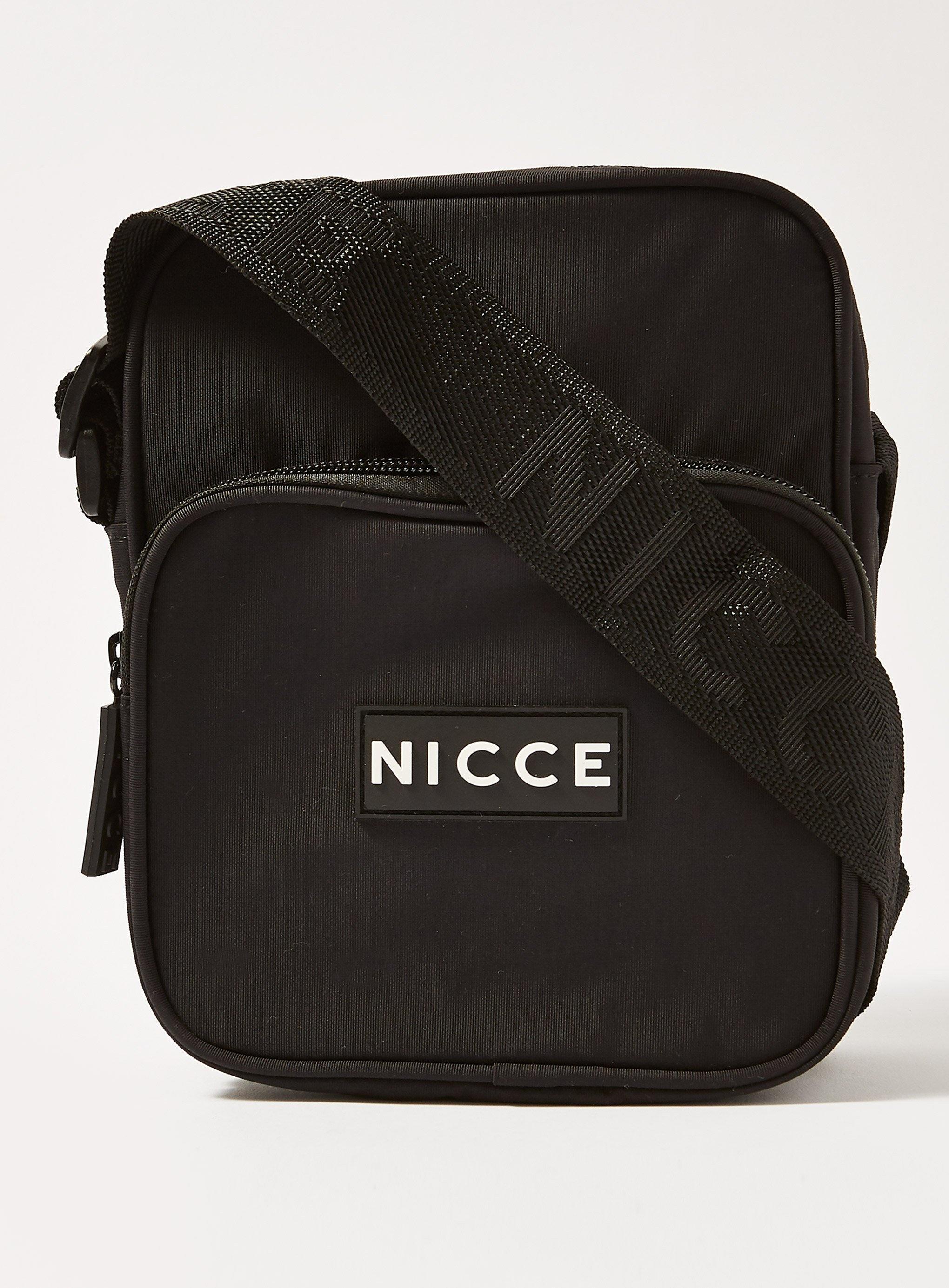 Lyst - Nicce London  timo  Flight Cross Body Bag in Black for Men 003866b5c6ad5