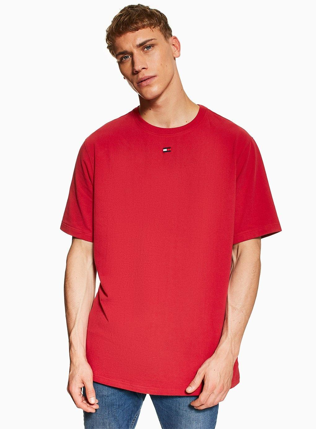 120ef62e Tommy Hilfiger Flag Loungewear T-shirt in Red for Men - Lyst