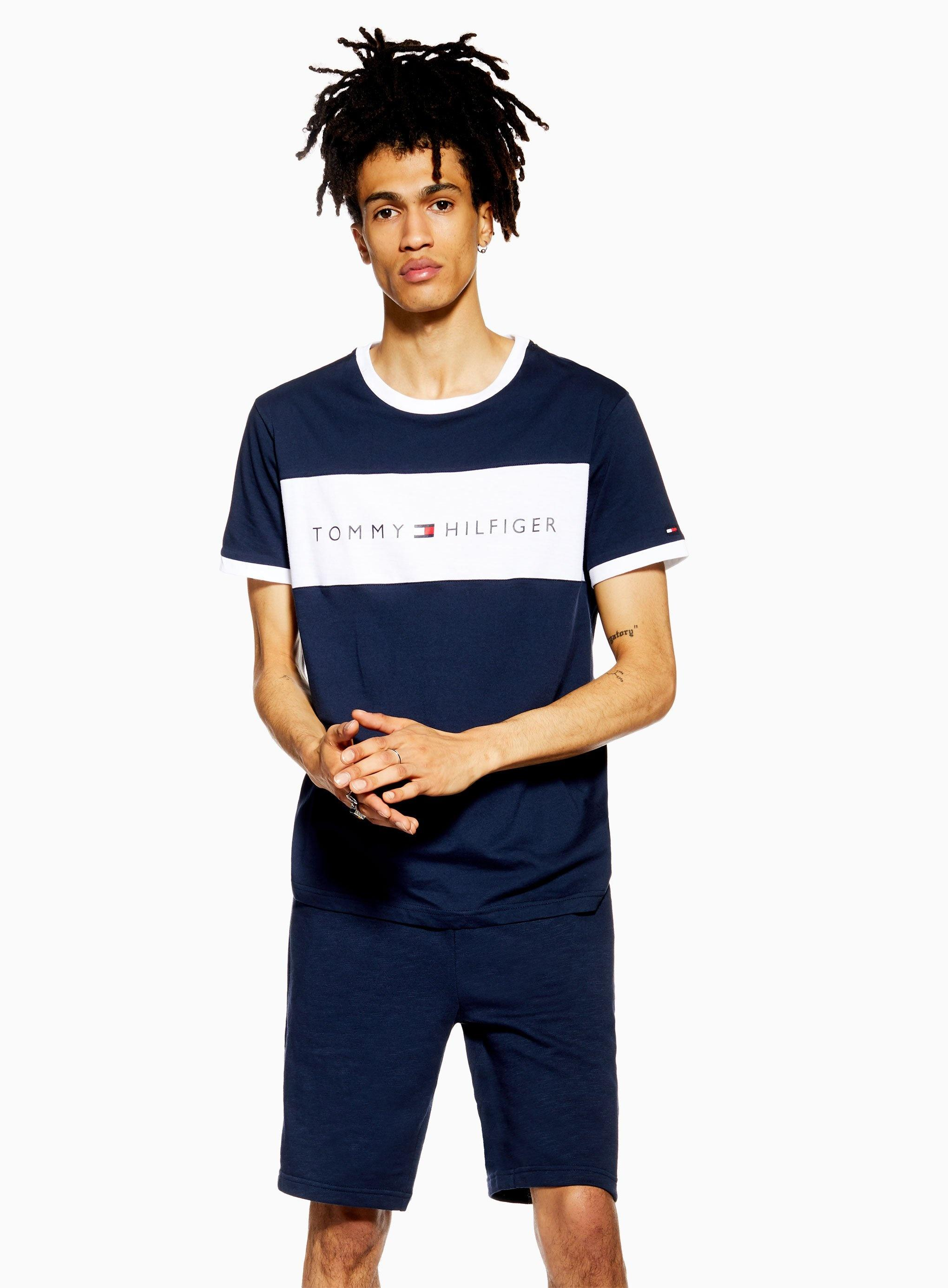 faa500f50 Tommy Hilfiger - Blue Tommy Jeanslogo T-shirt for Men - Lyst. View  fullscreen