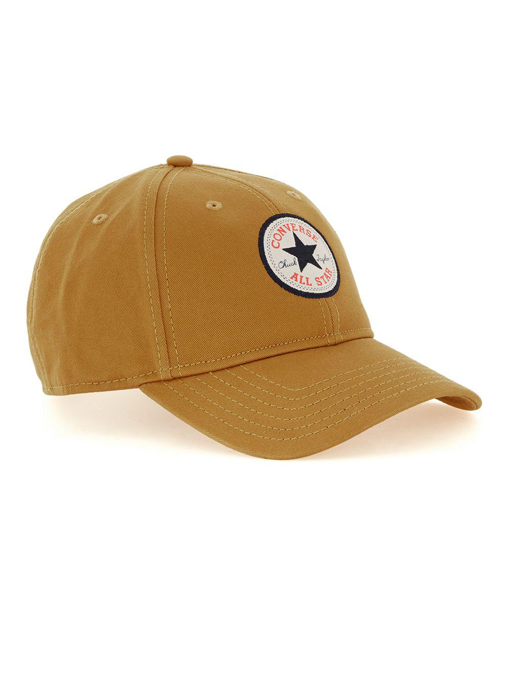 a3b8d888f74 Converse Converse Mustard Curved Peak Cap in Yellow for Men - Lyst