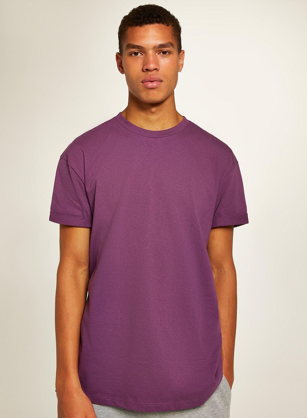 93ebc091 TOPMAN Oversized Roller T-shirt in Purple for Men - Lyst