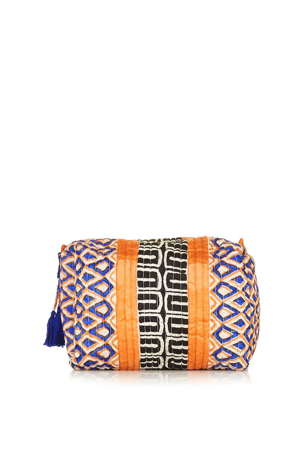 Topshop Key To Freedom Make Up Bag In Metallic Lyst