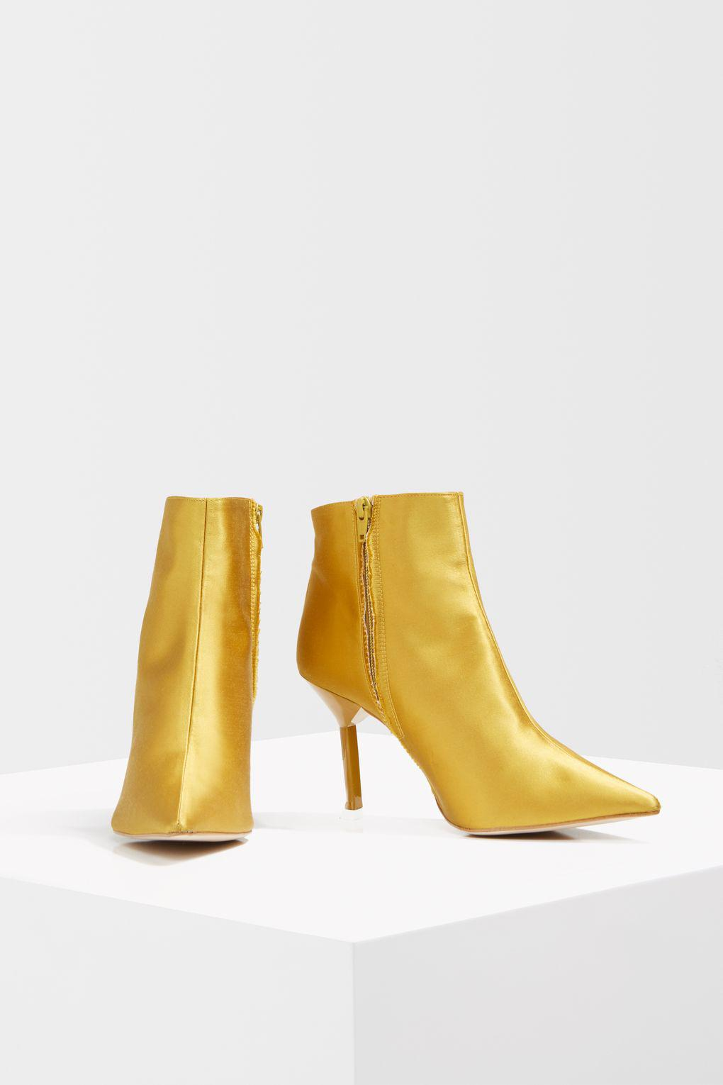 32916726b12e TOPSHOP Mustard Ankle Boots in Yellow - Lyst