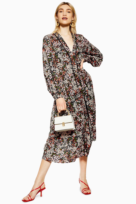 8785900bbd1f5 Topshop Green Leopard Print Dress