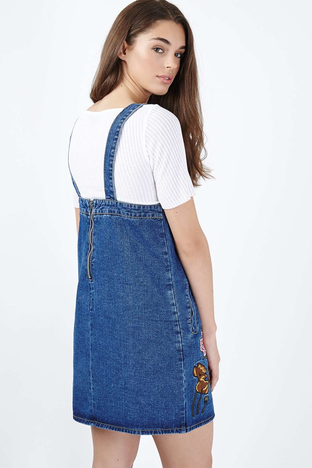 Glamorous Embroidered Denim Dress By in Blue | Lyst - photo#37