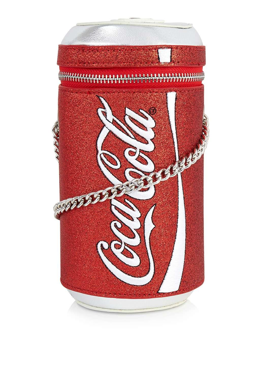 Skinnydip London Coke Can Crossbody Bag By Skinnydip in Red