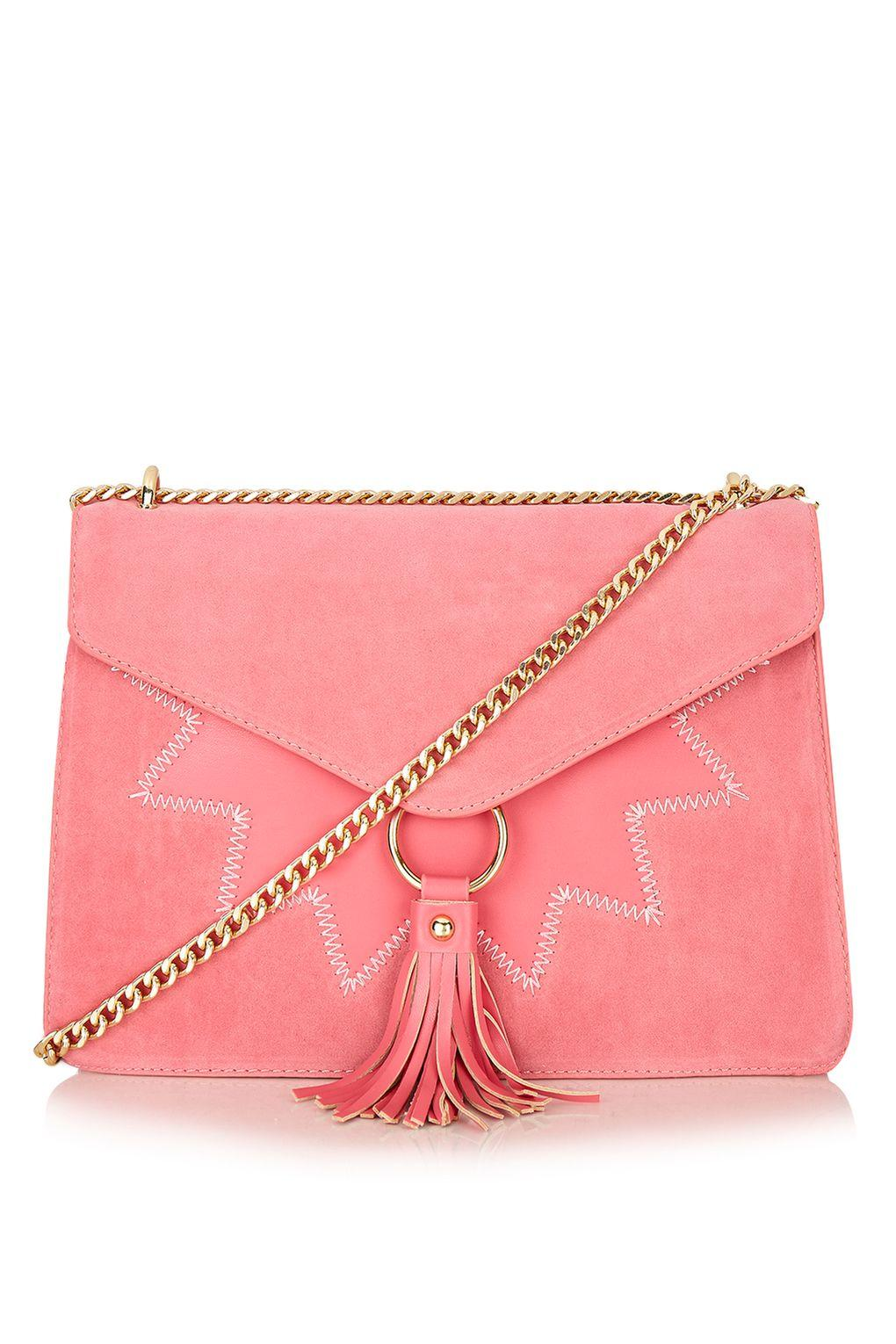Skinnydip London Star Laureli Cross Body Bag By Skinnydip in Pink