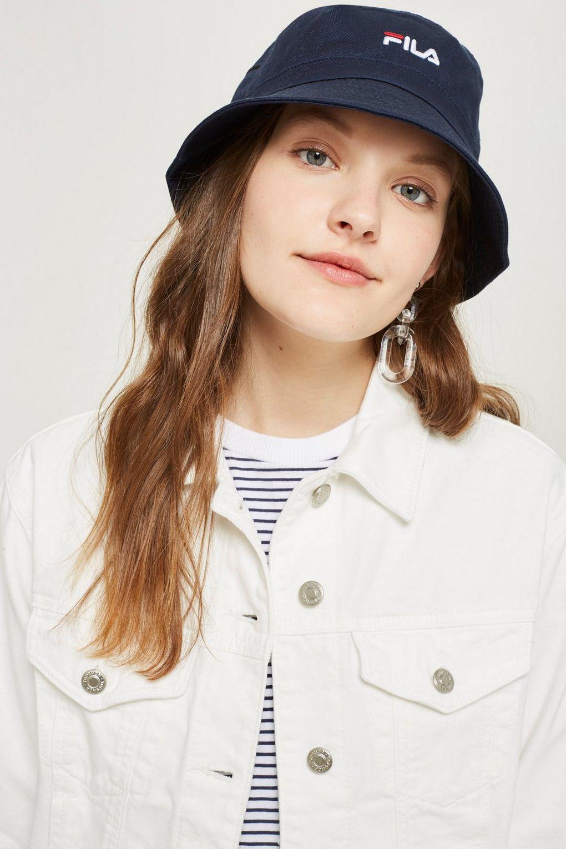 58140dd0af4 Fila Baxter Bucket Hat By in Blue - Lyst