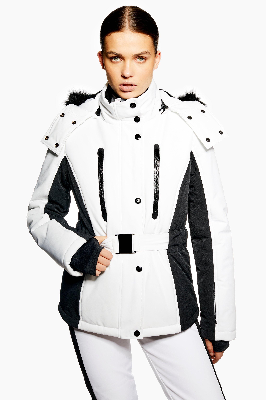 fa1003142253 TOPSHOP. Women's Colour Block Jacket By Sno