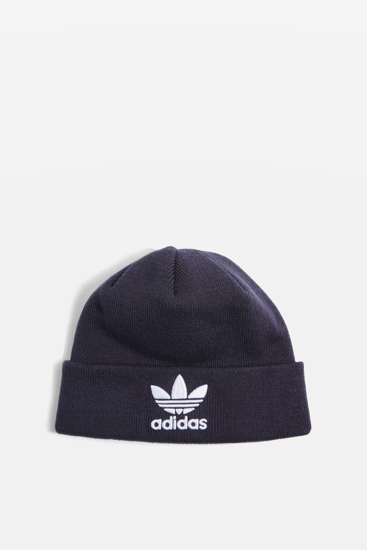 61057a77021 Lyst - adidas Beanie Hat in Blue