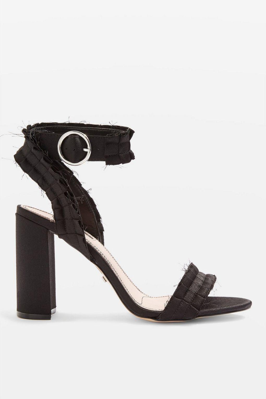 451c2aa179c Women's Black Wide Fit Ruby Sandals