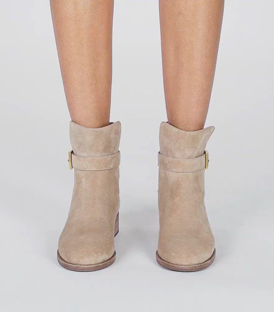 0202b8d86448 Lyst - Tory Burch Brooke Ankle Bootie in Natural