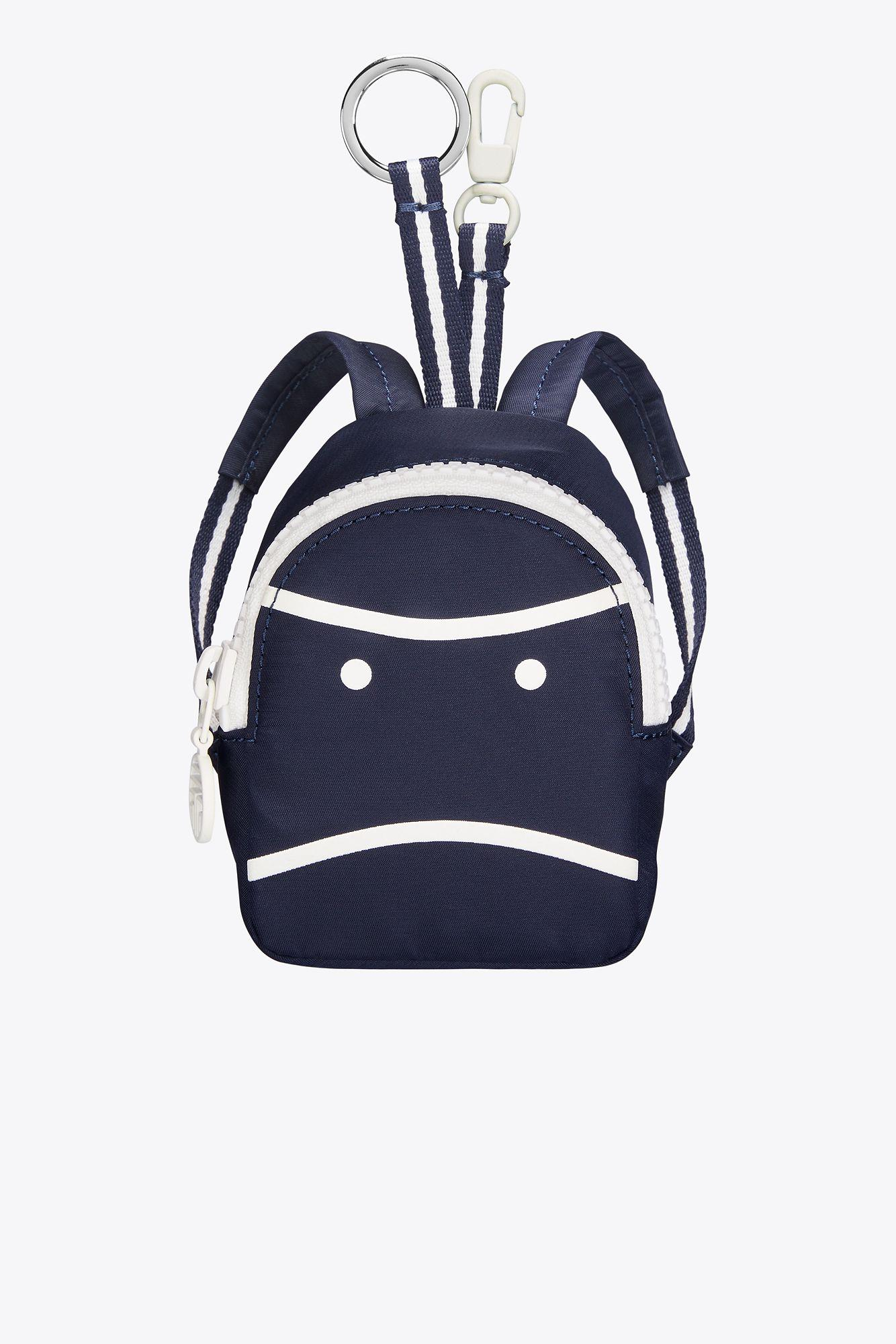 4c88f5c982a0 Lyst - Tory Sport Tory Burch Little Grumps Mini Backpack Key Fob in Blue