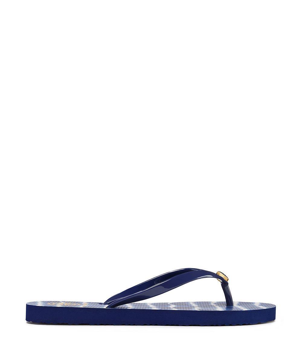 ed4ea09ca Lyst - Tory Burch Classic Flip-flop in Blue