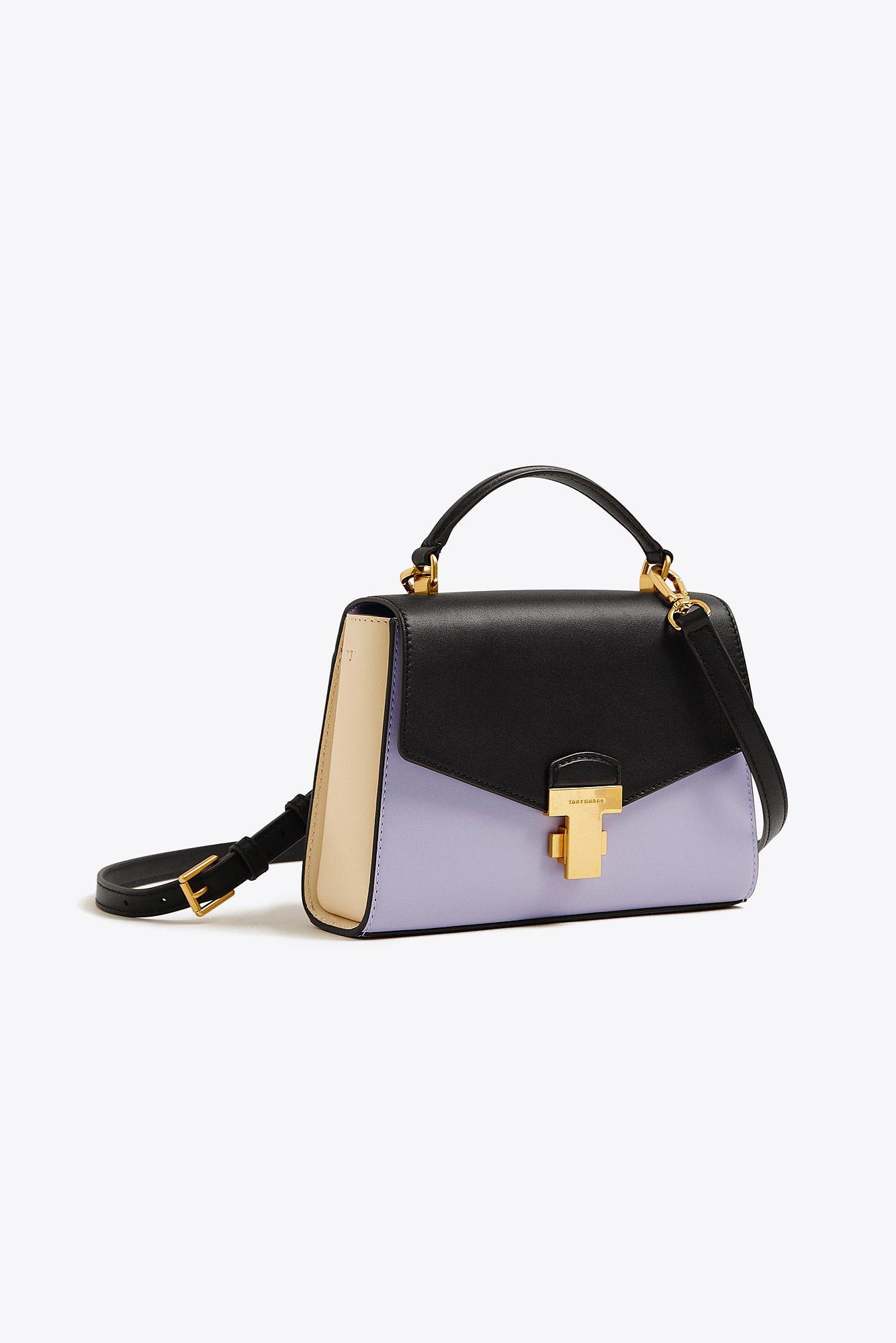 29f46155eecb Tory Burch. Women s Black Juliette Color-block Small Top-handle Satchel ...