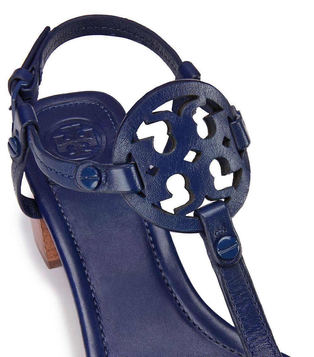a04238b6bb2ce2 Lyst - Tory Burch Miller Mid-heel Sandal