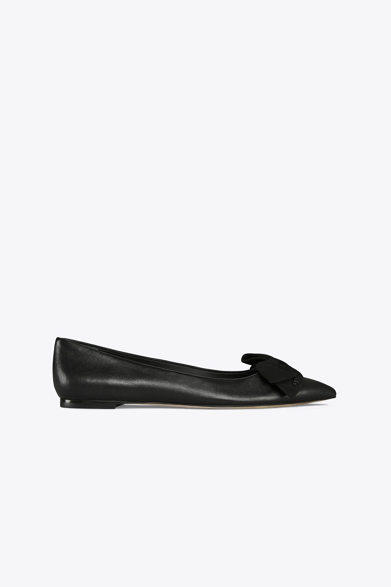 71ab24a6fc56 Tory Burch Rosalind Ballet Flat in Black - Save 46.53061224489796 ...