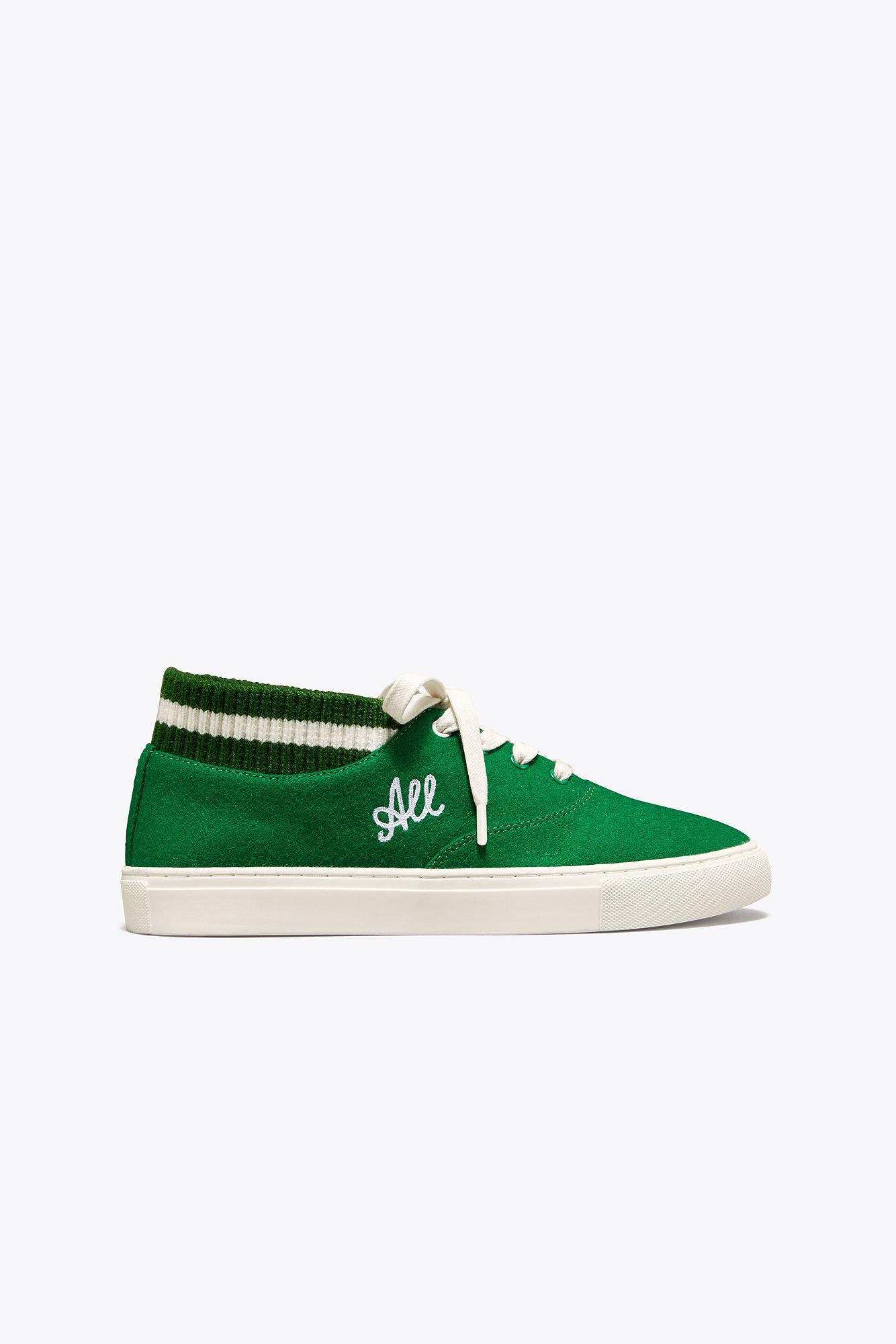 91c46546236 Lyst - Tory Sport Tory Burch Love All Sneakers in Green