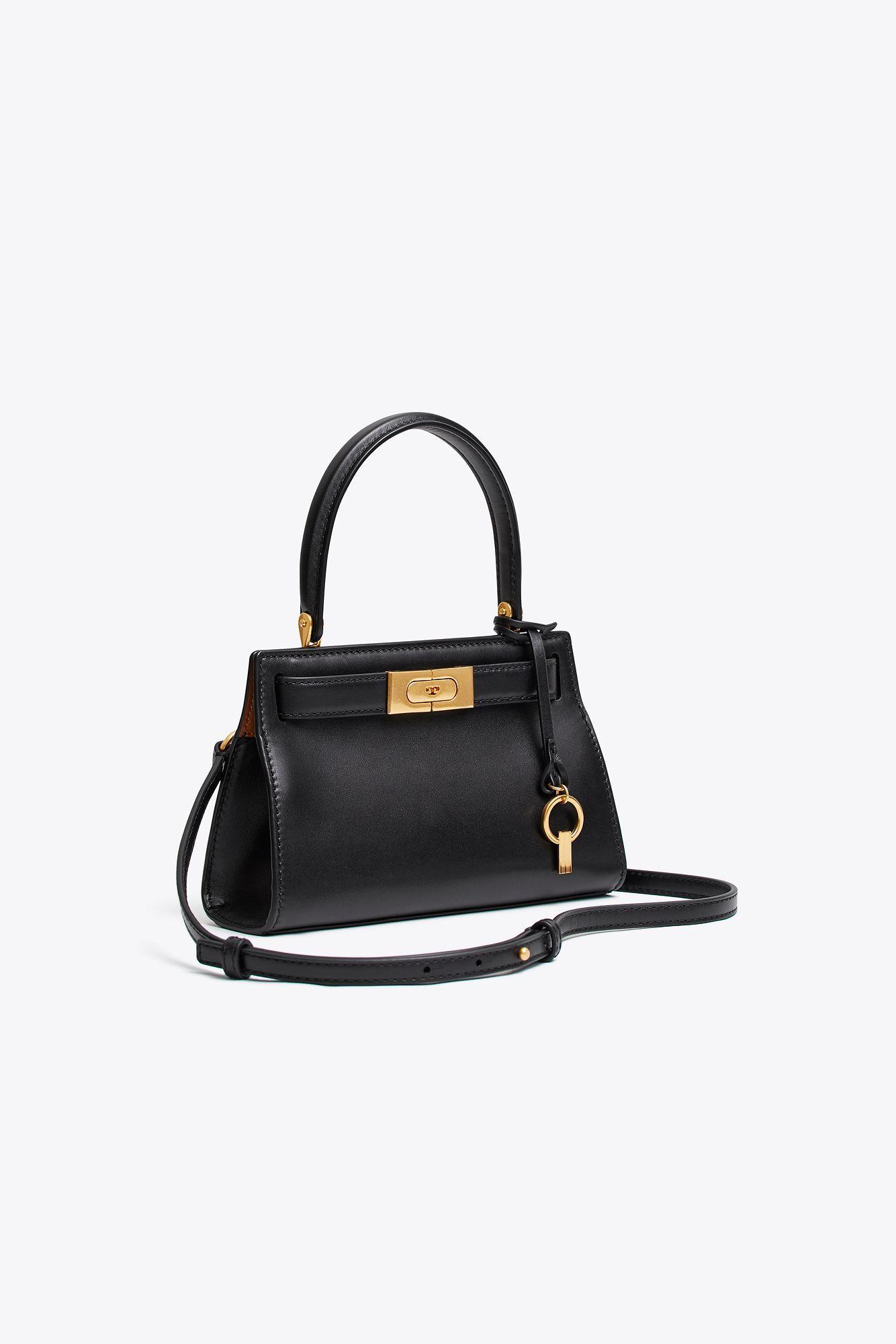 99891e323060 Lyst - Tory Burch Lee Radziwill Petite Bag in Black