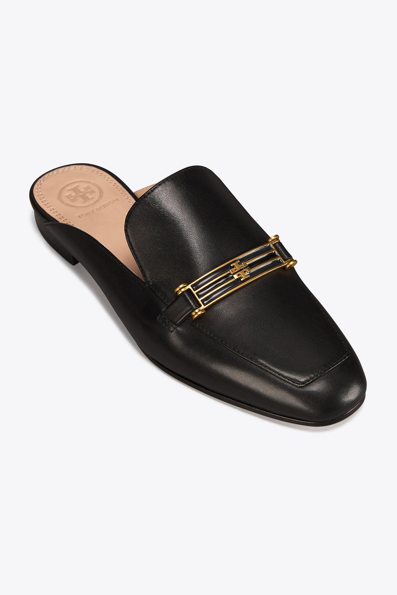 e3165089a367 Lyst - Tory Burch Amelia Slippers in Black