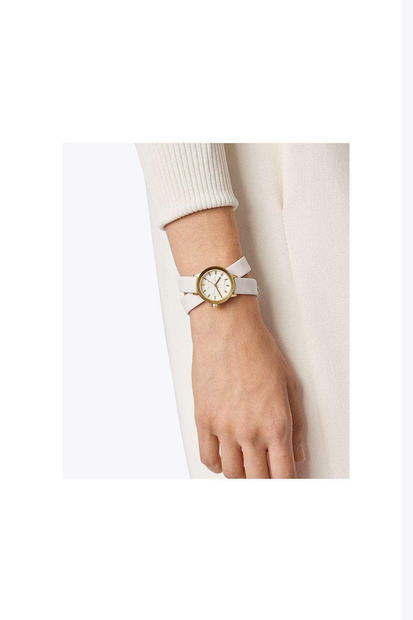 Tory Burch Gigi Double Wrap Watch