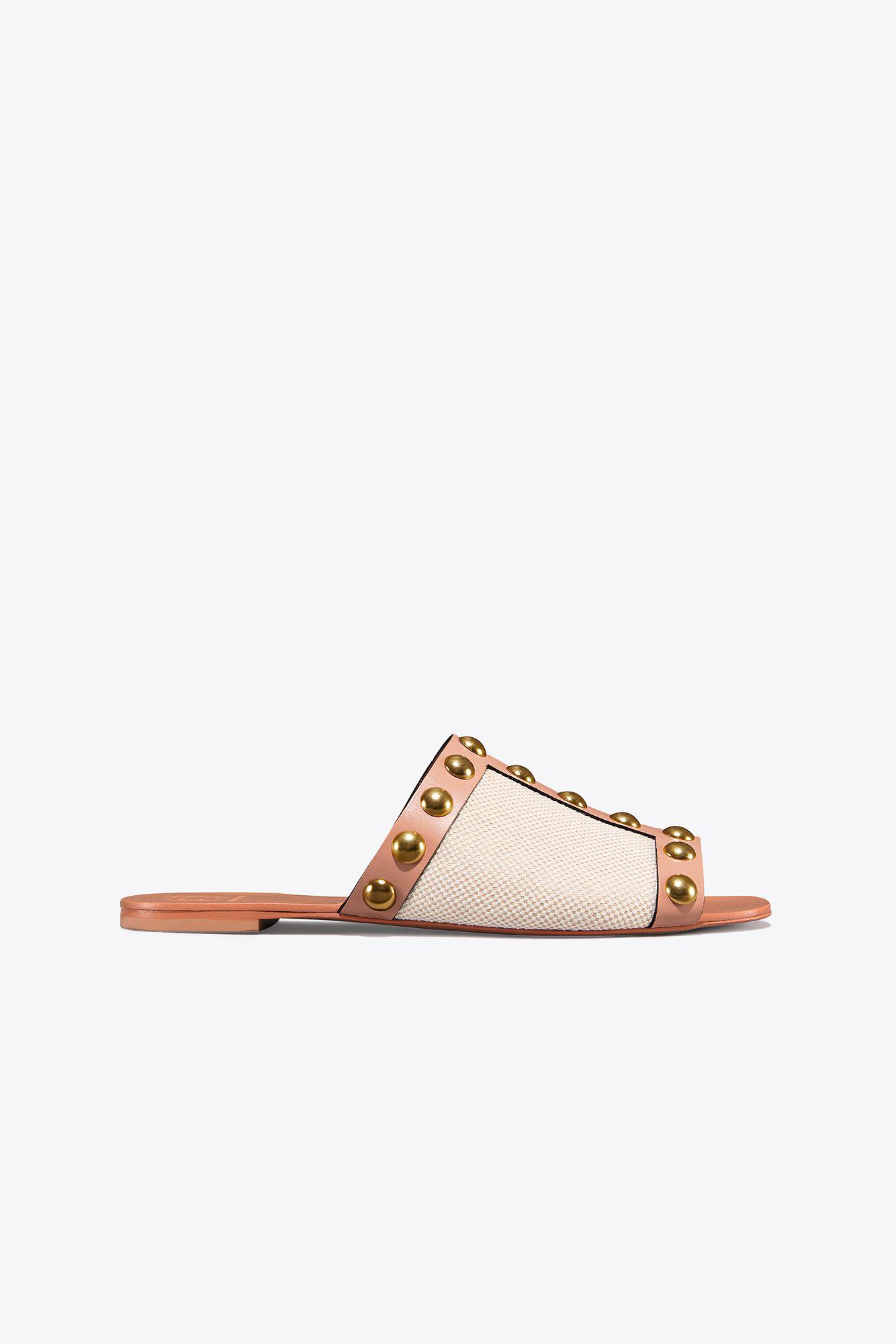 aab69bd8d113 Tory Burch Blythe Slide in Natural - Lyst