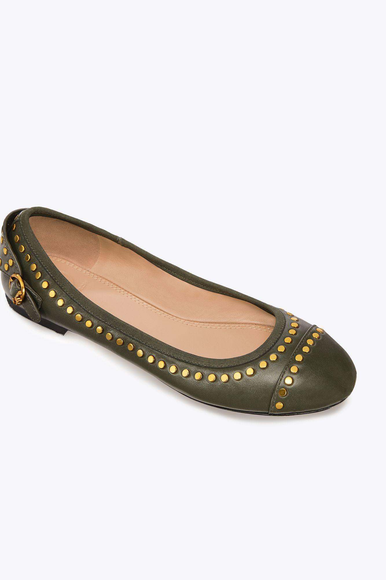 Holden studded ballet flats - Black Tory Burch Y5zVAo