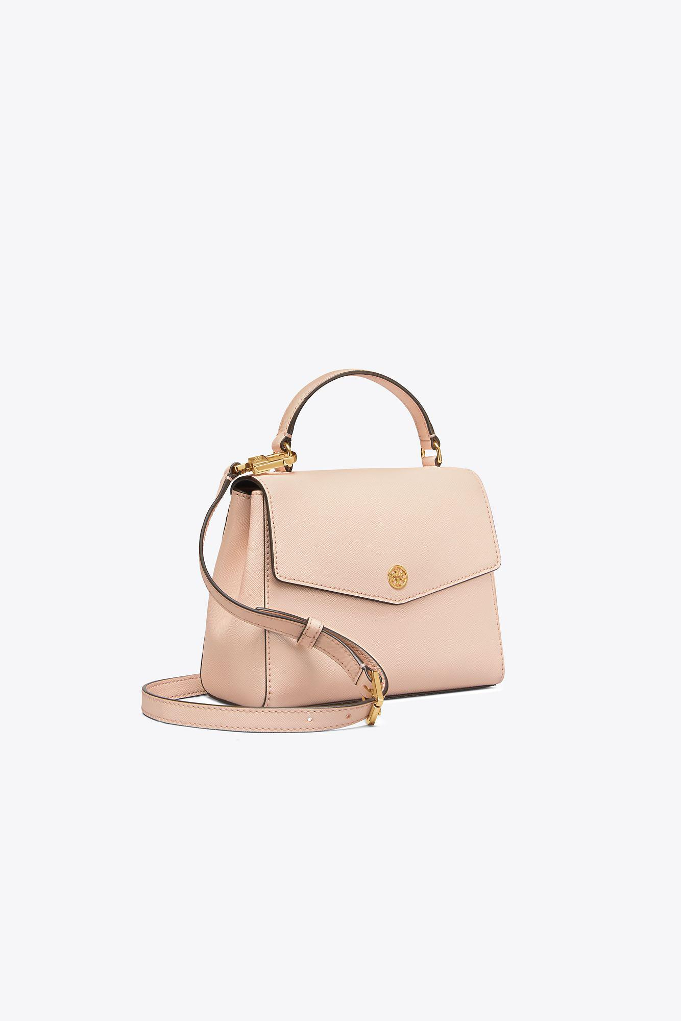 Tory Burch Leather Robinson Small Top-handle Satchel - Lyst