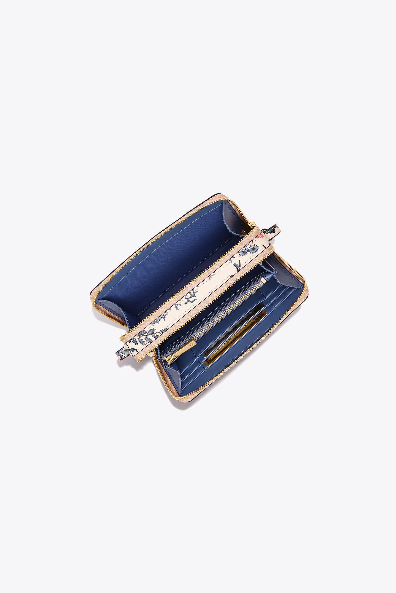 796ae1ac671 Lyst - Tory Burch Parker Floral Double-zip Mini Bag