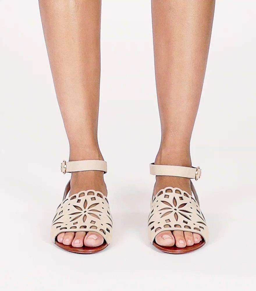 Tory Burch May Flat Sandal 430 Sandals In Red Lyst