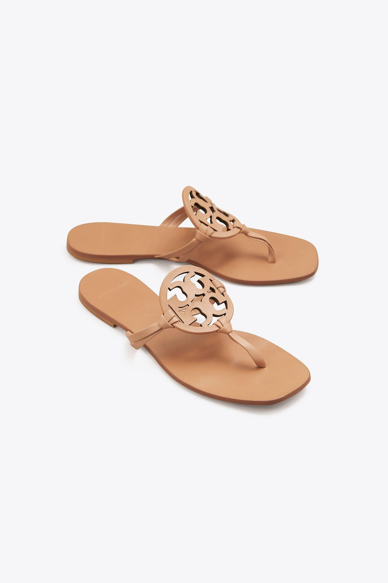 f13f6378d39 Tory Burch - Multicolor Miller Square-toe Sandal