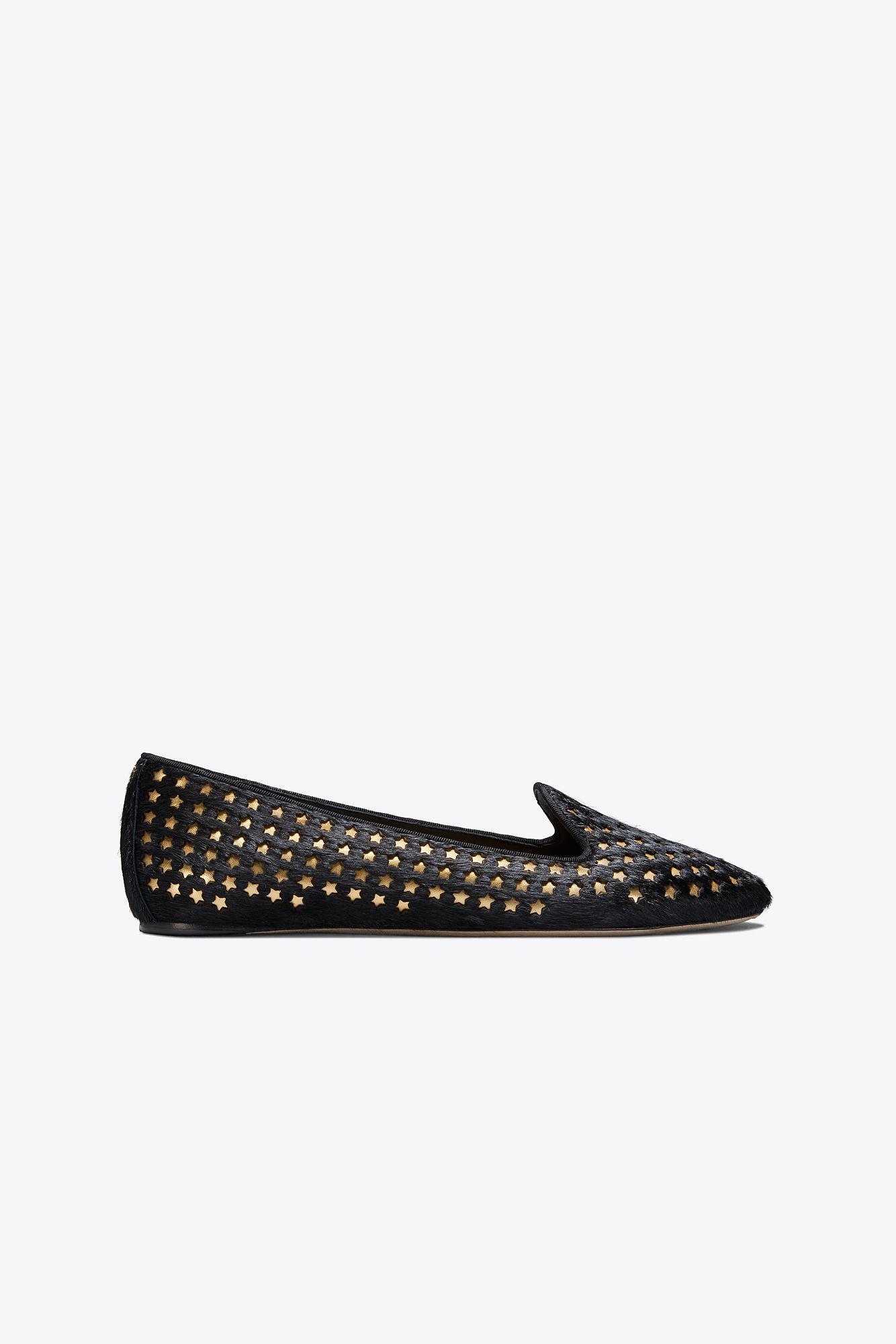 693f1aadedaf Lyst - Tory Burch Olympia Stud Loafers in Black - Save 32%