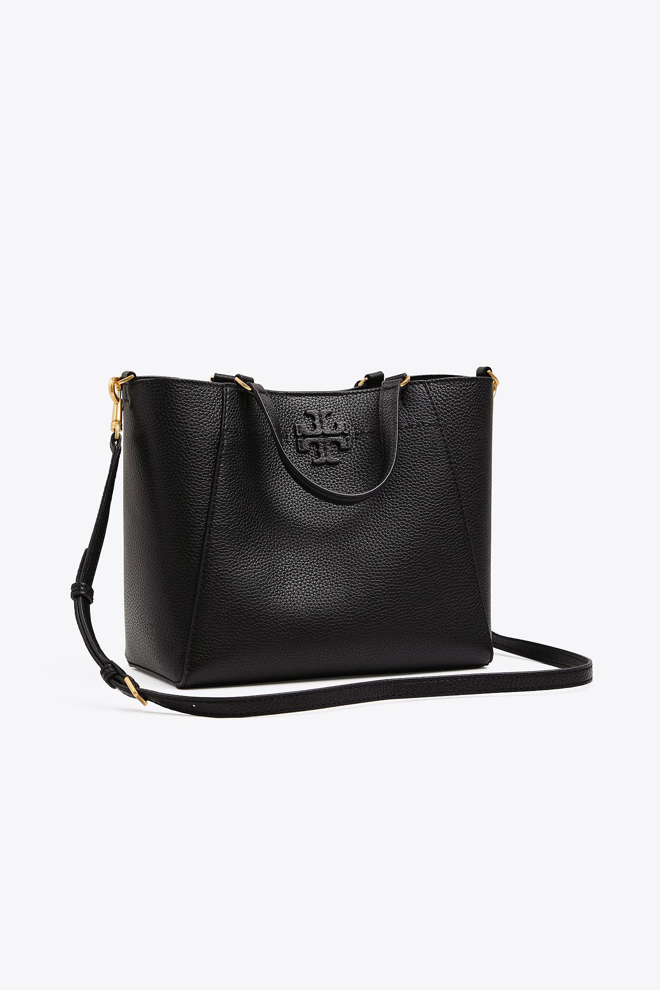 81e3928865f7 Tory Burch. Women s Black Mcgraw Small Carryall ...