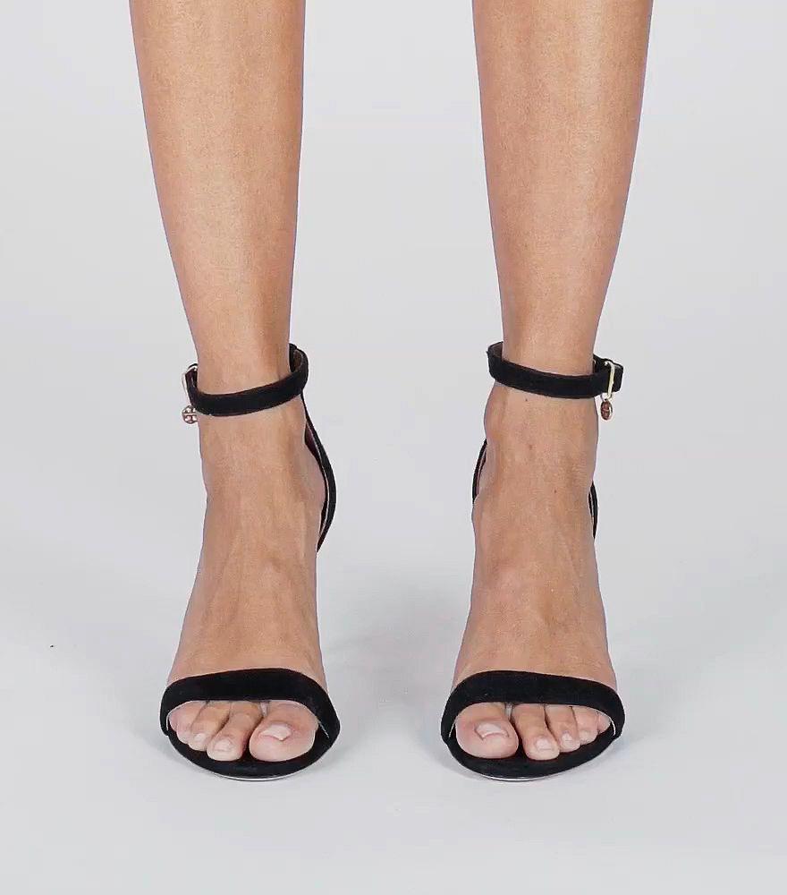 08e342f51ca Lyst - Tory Burch Ellie Ankle-strap Sandal in Black