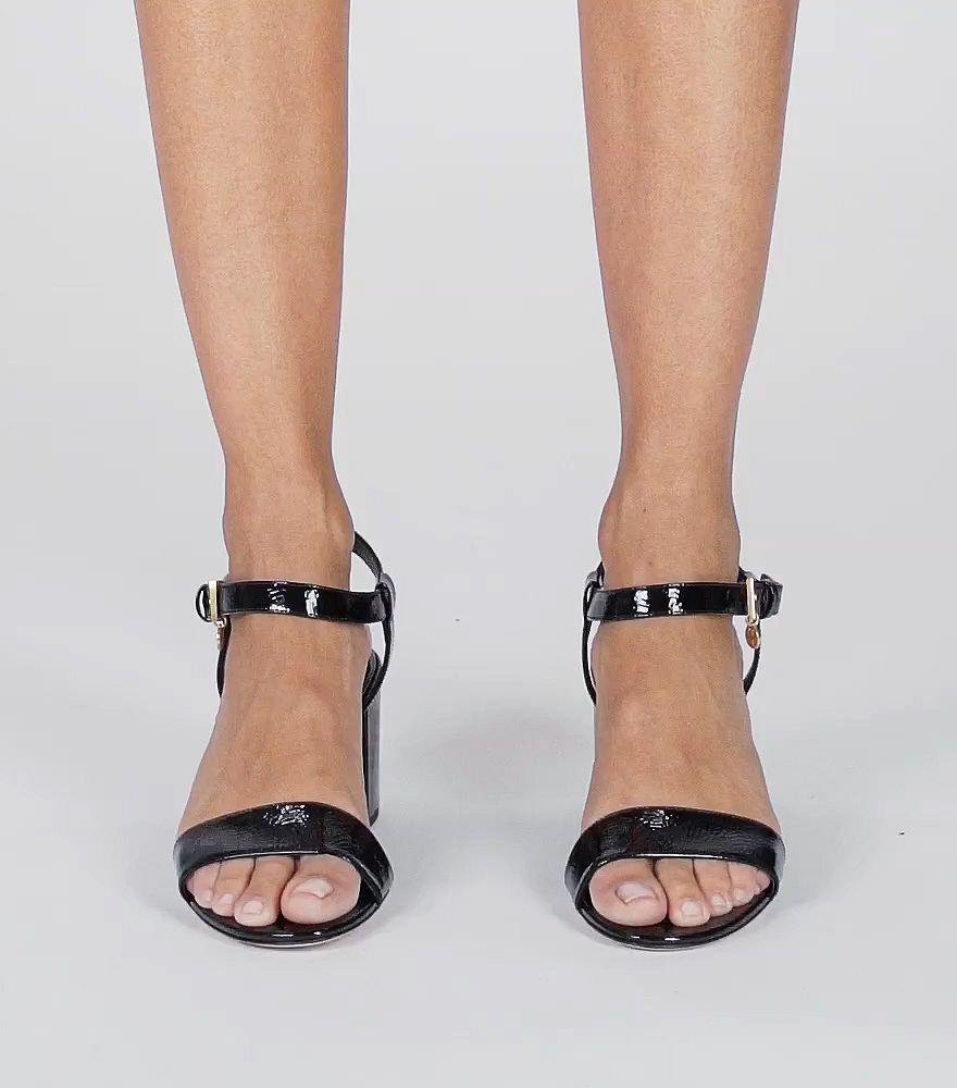 2c2f54abe4eb Lyst - Tory Burch Laurel Ankle-strap Sandal in Red
