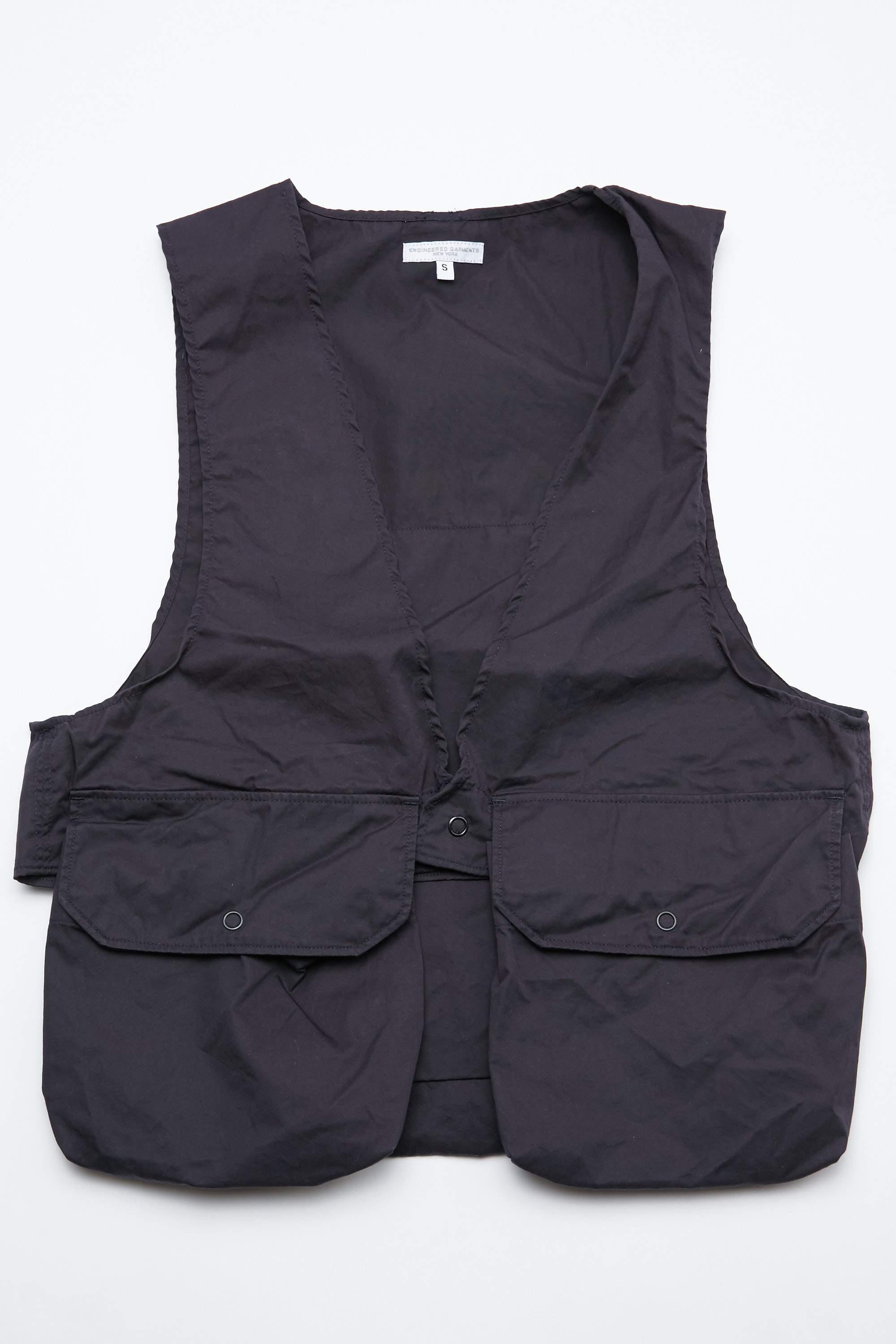 engineered garments fowl vest