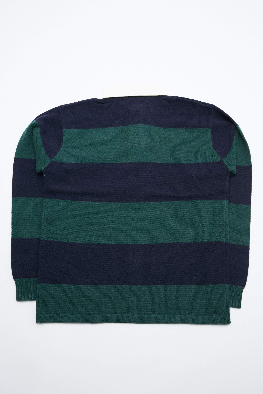 ff58bf845 Beams Plus Multicolor Knit Rugger 7g for men